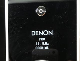 PMA-60 コアキシャル 接続表示画面