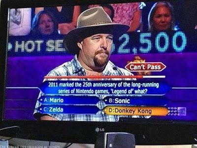 Wer wird Millionär lustige Menschen in Quiz Show komische Bilder
