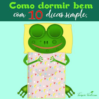 Como dormir bem com 10 dicas simples