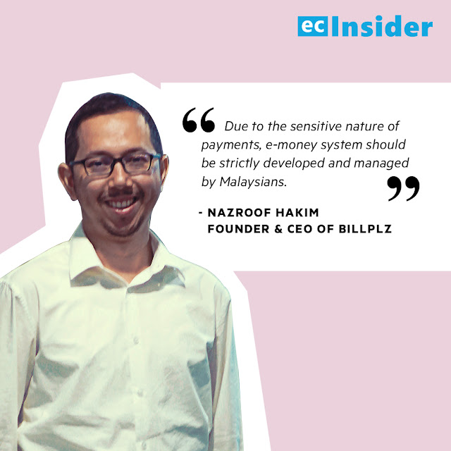 Nazroof Hakim, Founder & CEO of Billplz