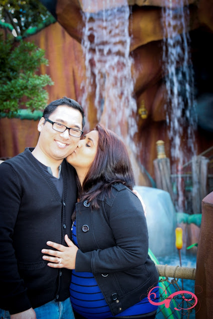 Disneyland Engagement Shoot - Toontown
