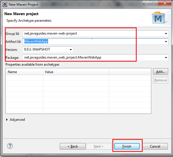 How to Create a Web Project Using Maven in Eclipse - DZone Java