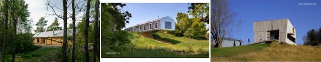 Tres modelos de casas granero contemporáneas en distintos países