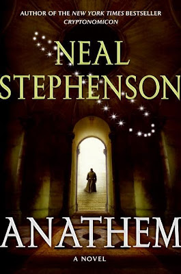 Anathem by Neal Stephenson book cover
