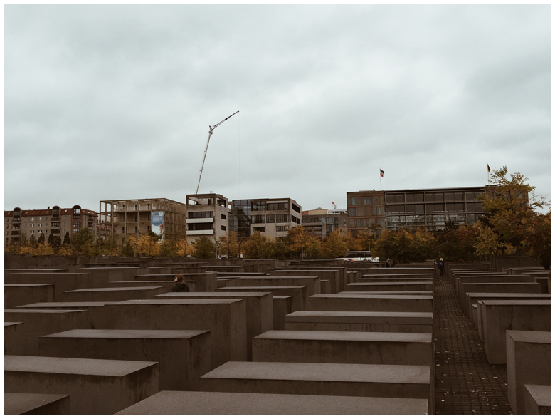 travel diary berlin part 2, holocaust mahnmal