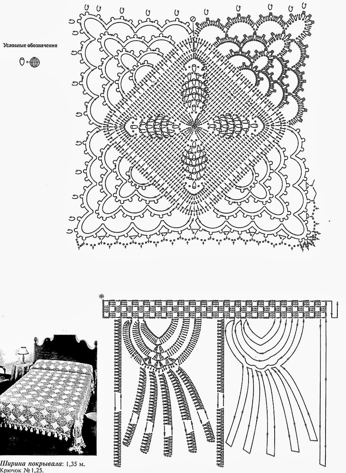 croche: Bedspread