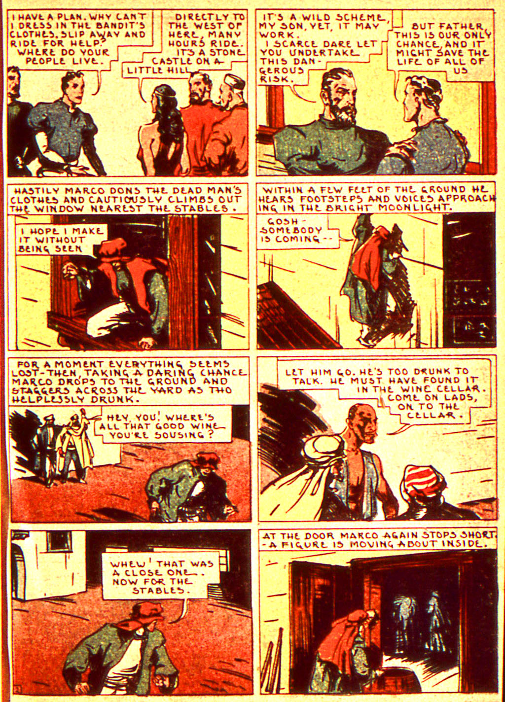 Read online Action Comics (1938) comic -  Issue #7 - 30
