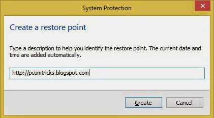 Restore points are a useful characteristic to restore the operating organisation to its master copy Blue Planet How To Use System Restore inwards Windows 8