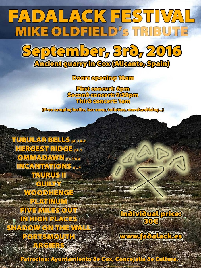 FADALACK FESTIVAL : Une journée entière dédiée à la musique de Mike Oldfield !  Fadalack_festival_2016