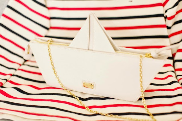bolso, barco, accesorios, labores, costura, tutorial, bolso origami
