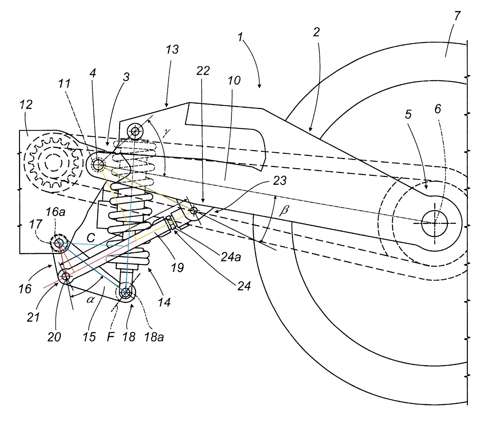 wp instead of bitubo muz manx Wiring Harness link system geometry