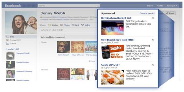 chay quang cao tren facebook