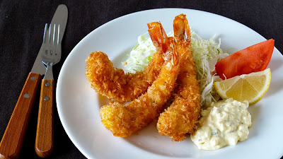 Ebi Furai (Deep Fried Prawn)