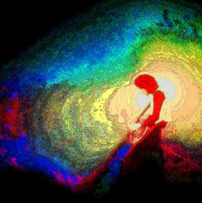 Psicodelia. Foto polarizada y posterizada. Rodrigo L. Alonso.