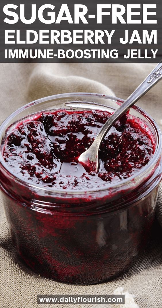 Elderberry Chia Jam Recipe
