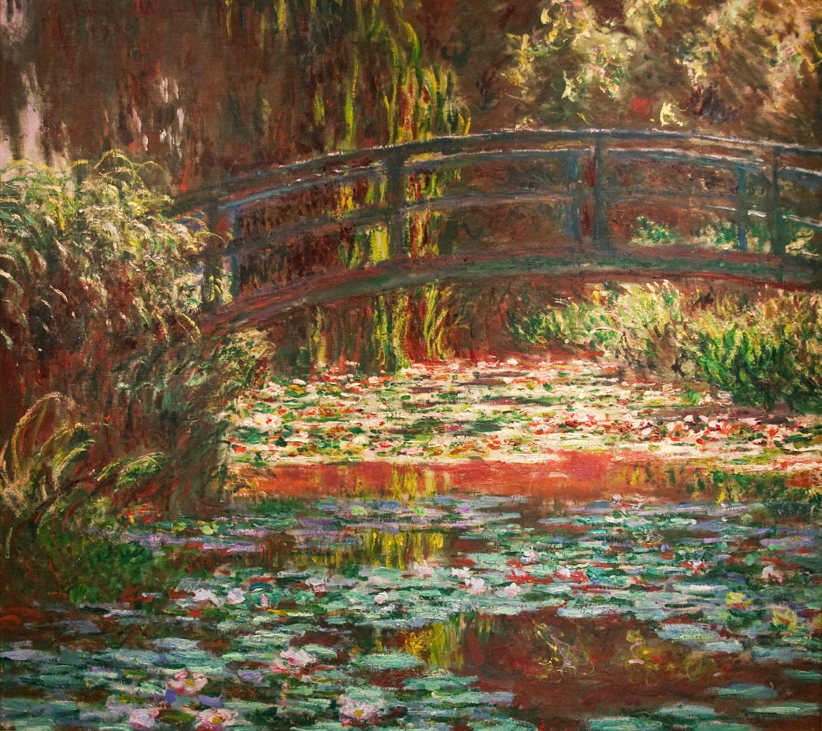 Claude Monet: Water Lily Pond, 1900 (Kent Baldner)