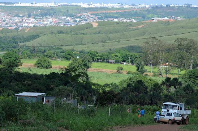 6,5 toneladas de entulho retiradas da zona rural Capão Comprindo
