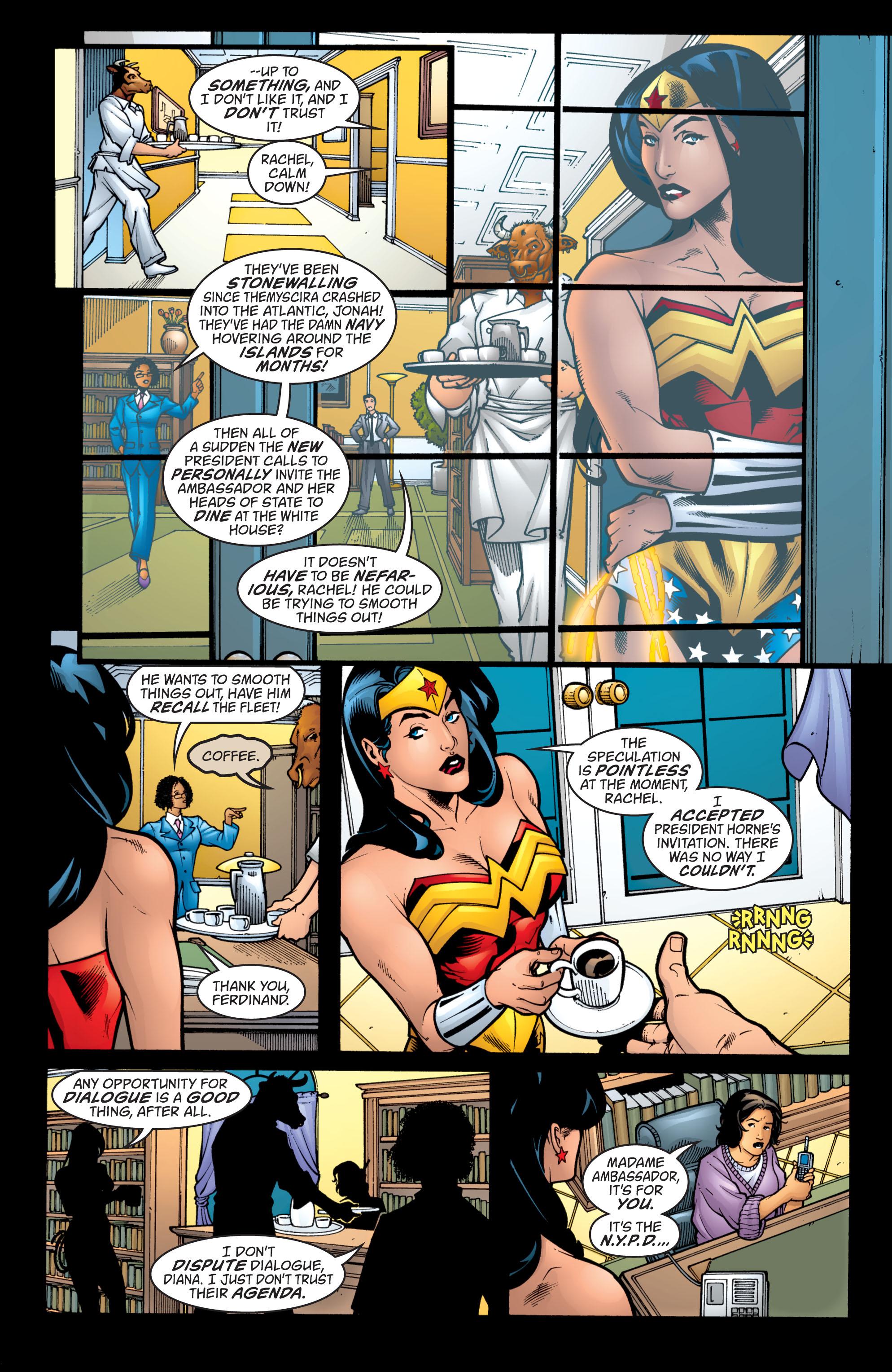 Read online Wonder Woman (1987) comic -  Issue #207 - 8