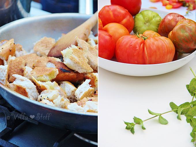 Rezept | Tomaten-Brotsalat (Panzanella)