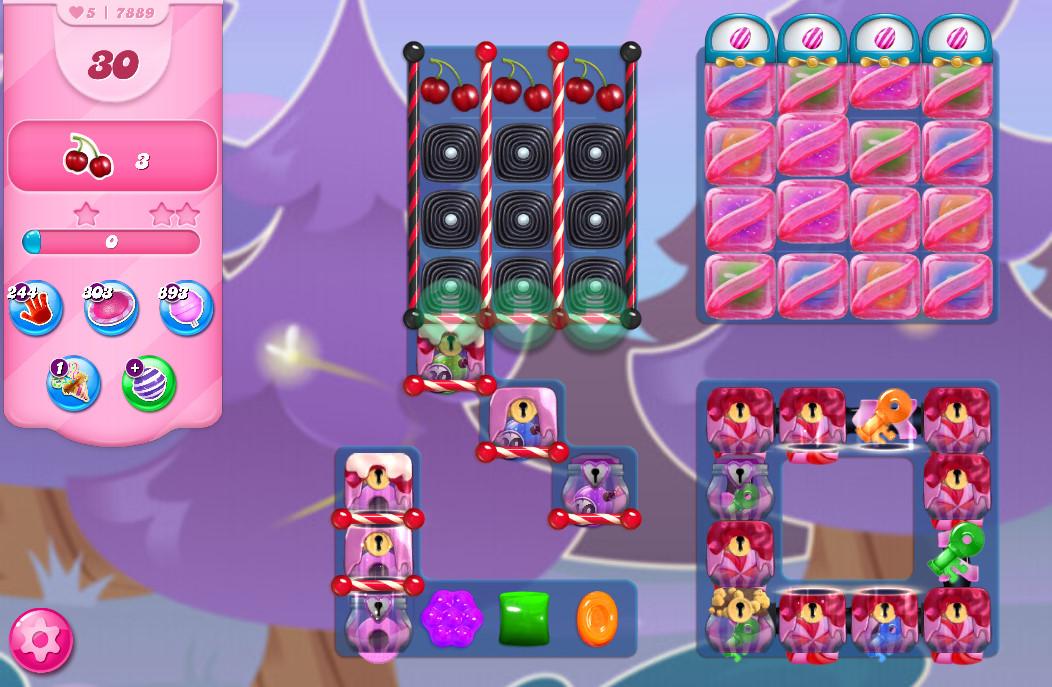 Candy Crush Saga level 7889