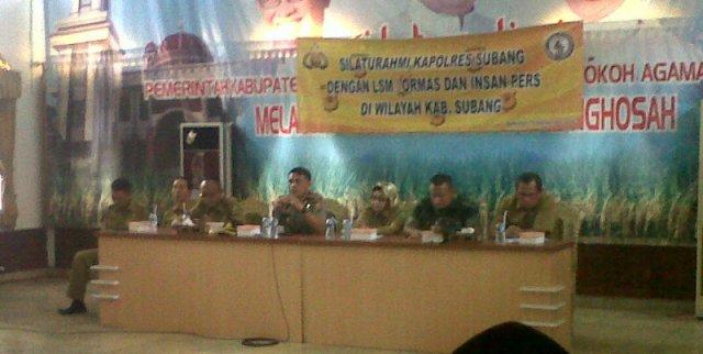 Kapolres Subang Kumpulkan Ormas dan LSM, Ada Apa Ya?