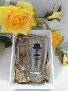 caixa para lembrancinhas mdf  branco   para canecas de vidro personalizadas