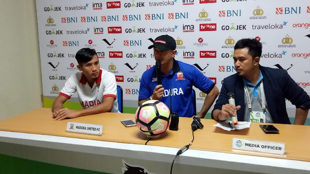 Penyelesaian Akhir Buruk, Madura United pun Kalah