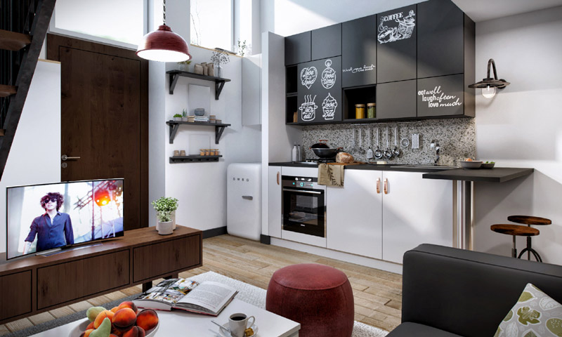 progetto interior design GoPillar arch Damla Gulmez