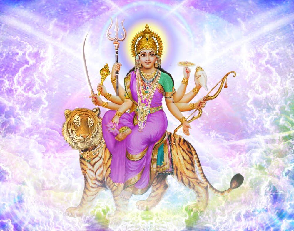 Durga Puja 3d Wallpaper All Free Wallpaper Download Wallpaper Of Sherawali Mata