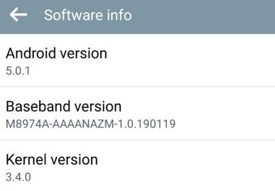 sapere versione android installata