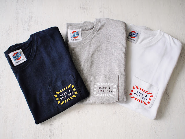 "【""HAVE A NICE DAY"" Pocket Tee】"