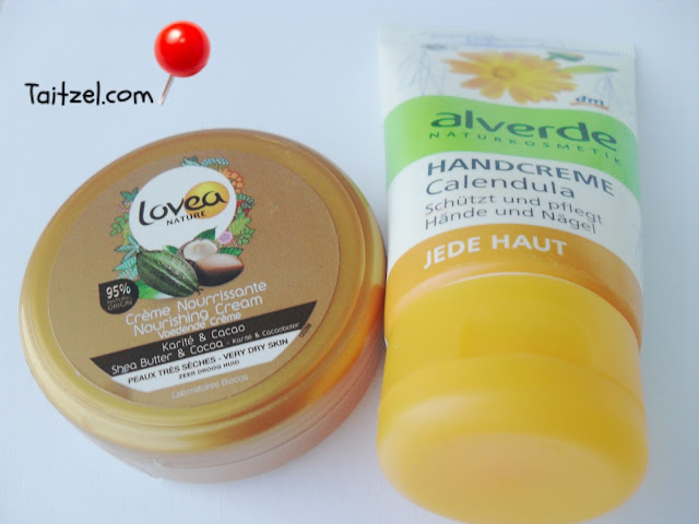 lovea and alverde crema de maini handcreme