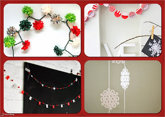 Celebrate Holiday Cheer By DIY Creative Christmas Garlands