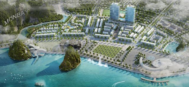Phối cảnh tổng thể dự án MON BAY Hạ Long
