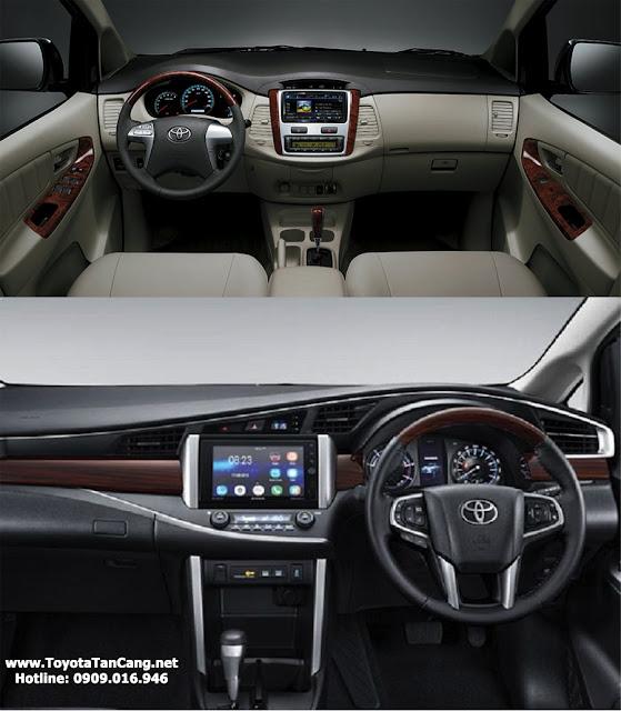 toyota innova 2015 innova 2016 noi that - Mua xe Toyota Innova 2016 hoàn toàn mới hay 2015 ? - Muaxegiatot.vn