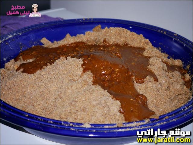 طريقة عمل السفوف أو سلو المغربي بالصور