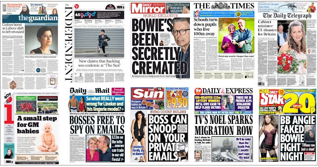 front pages 14-01-16