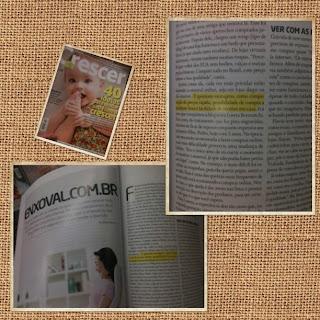 Entrevista sobre compras na internet para a revista Crescer nov/12, dicas da blogueira Loreta Berezutchi.