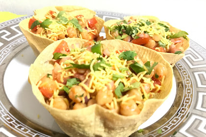 Chana Chaat Katori Recipe