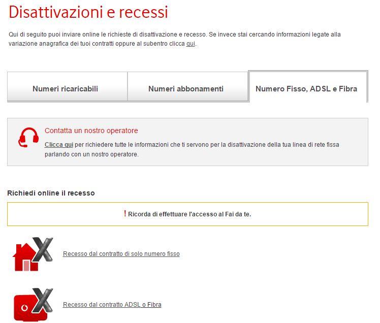 Modulo per disdetta Vodafone? Non serve, ecco come disdire online!