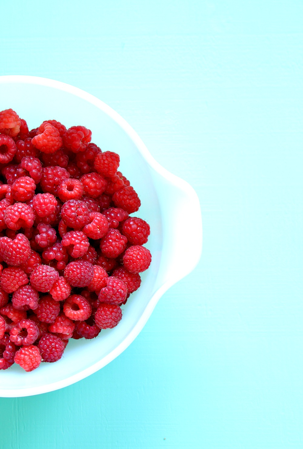 Bowl of Raspberries