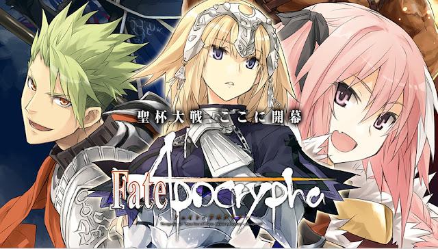 Anime Fate/Aprocrypha estrena tráiler