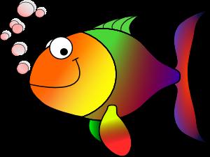 Gambar Ikan Kartun Lucu Animasi Terbaru