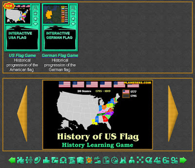 Online History Flag Games
