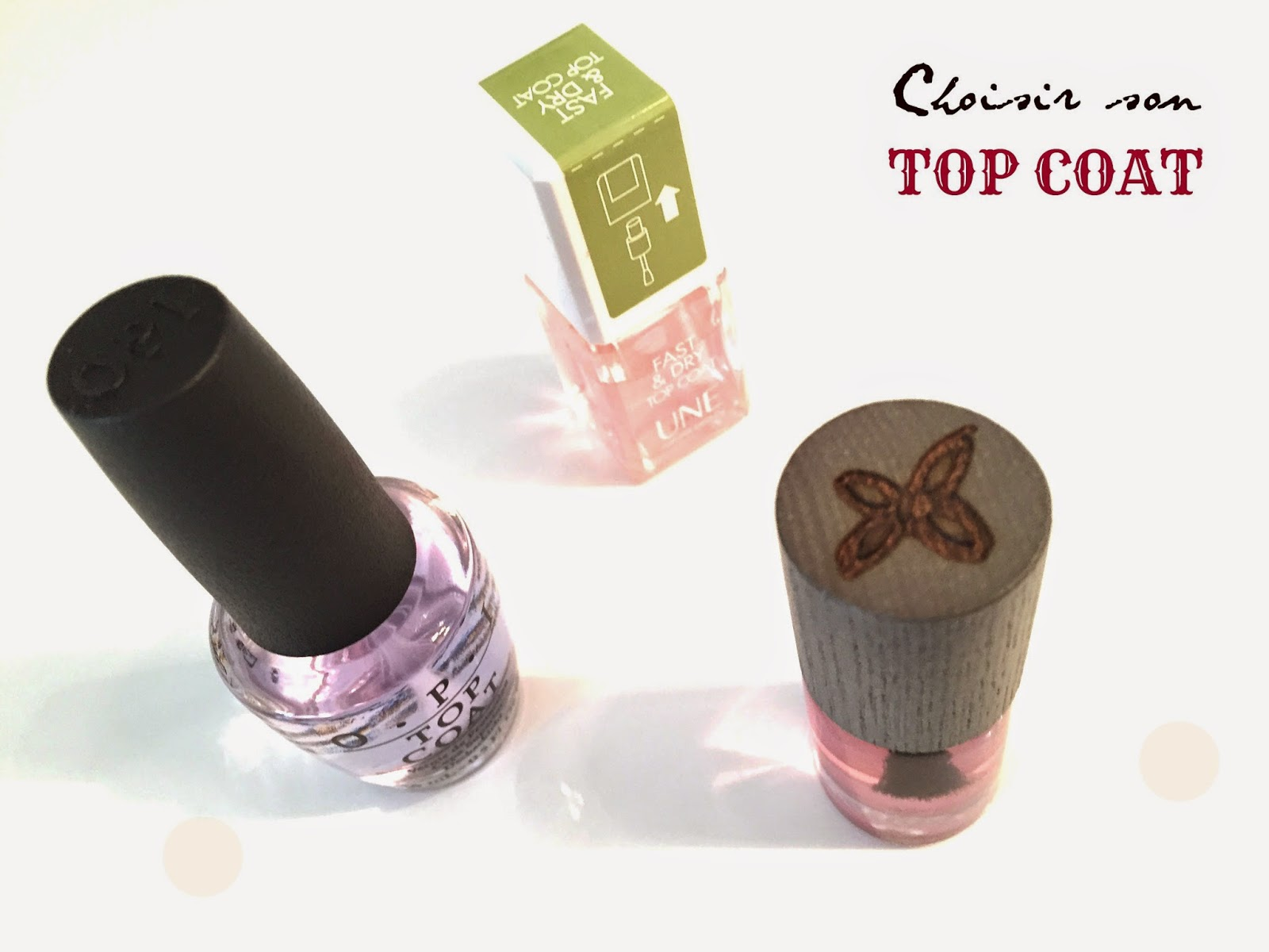 Choisir son top coat