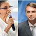 IBOPE: Sem Lula, Marina e Bolsonaro empatam tecnicamente; Quando incluído, petista mantém 33%