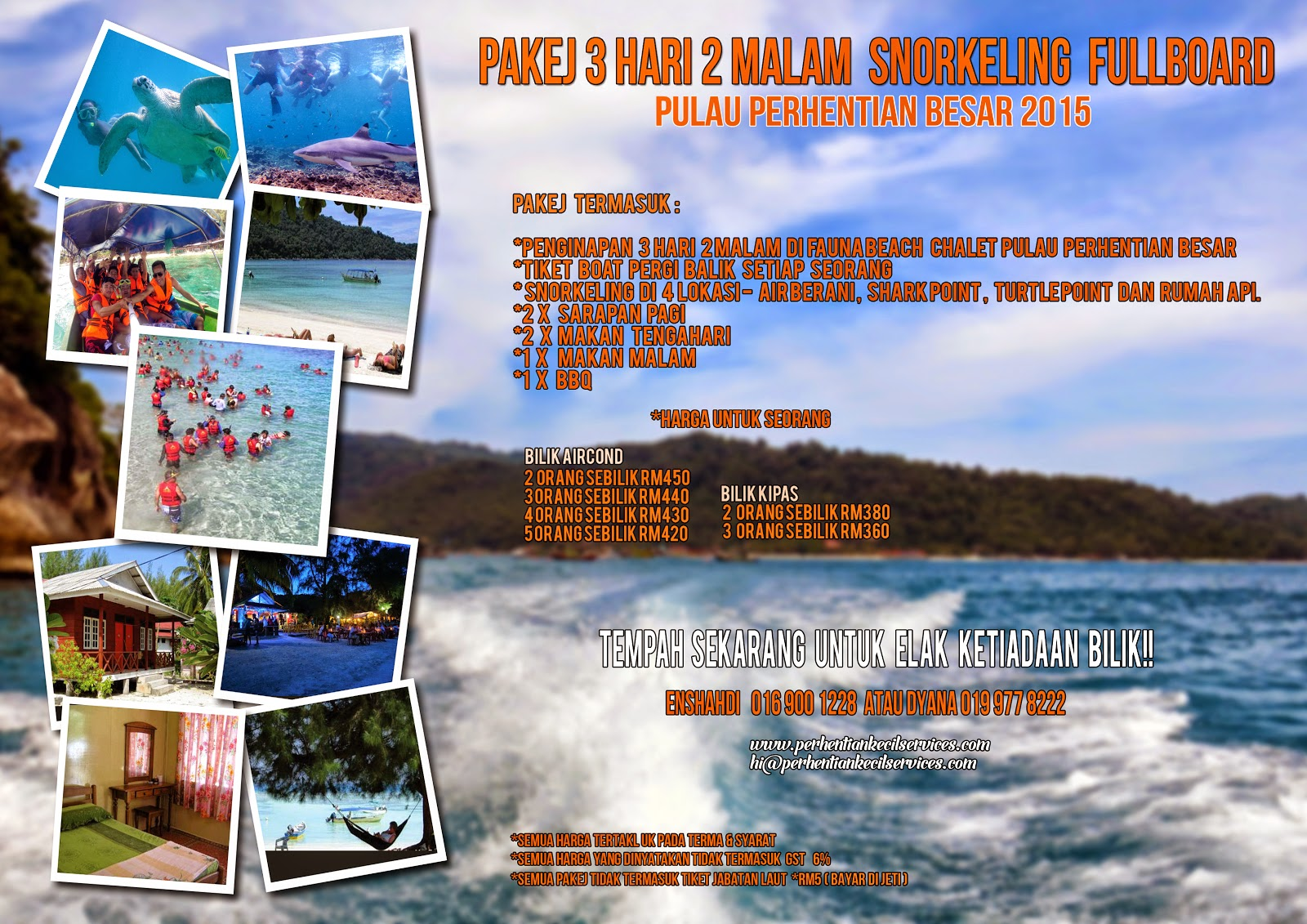 A field trip to Tioman Island