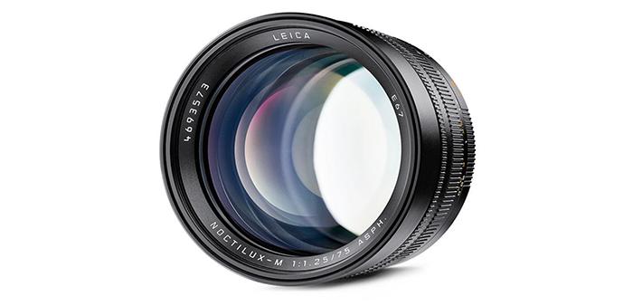 Объектив Leica Noctilux-M 75mm f/1.25 Asph, вид спереди