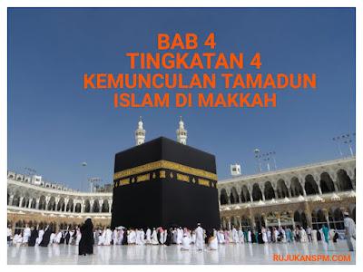 Nota Sejarah Tingkatan 4 Bab 4 Kemunculan Tamadun Islam di Makkah