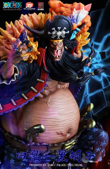Figuras: Imágenes de Barbanegra de One Piece - Jimei Palace